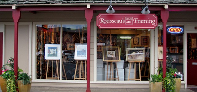 Rousseau's Fine Art Framing