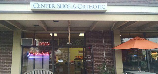 CENTER SHOE & ORTHOTIC
