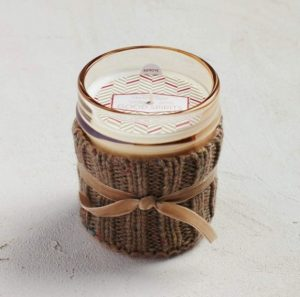 good spirits cozy sweater candle